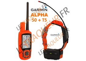 Pack GARMIN ALPHA 50 avec collier T5