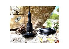 Antenne de toit Supra flex Black édition avec raccord BNC