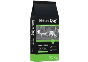 Croquettes Alpes Pro 28/16 Nature Dog