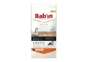 Croquettes Selective Adulte Sensitive poulet Bab'in