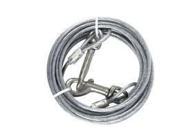Câble plastifié pour attache