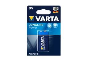 Piles alcaline 9 volts Varta High Energy