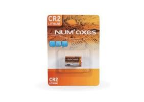 Pile lithium CR2 3 volts Num'Axes