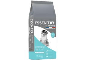 Croquettes Essentiel Saumon 30/18 Low Grain Nature Dog